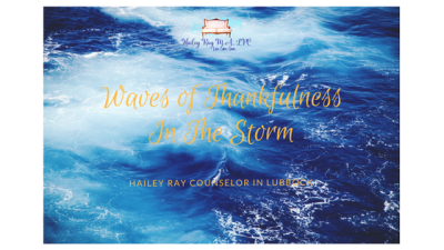 Waves of Thankfulness In the Storm